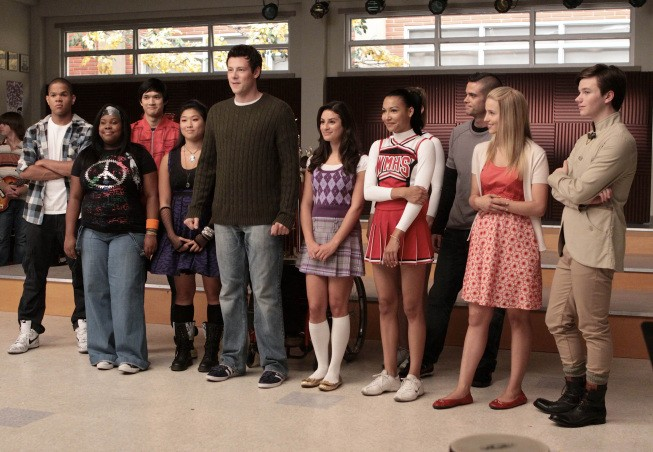 Glee: il club di canto nell'episodio Sectionals