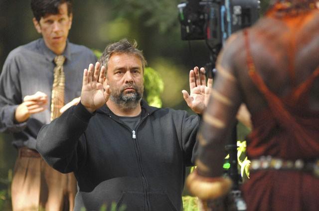 Il regista Luc Besson sul set del film Arthur e la vendetta di Maltazard