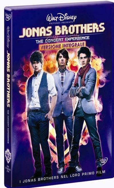 La copertina di Jonas Brothers - The concert experience (dvd)