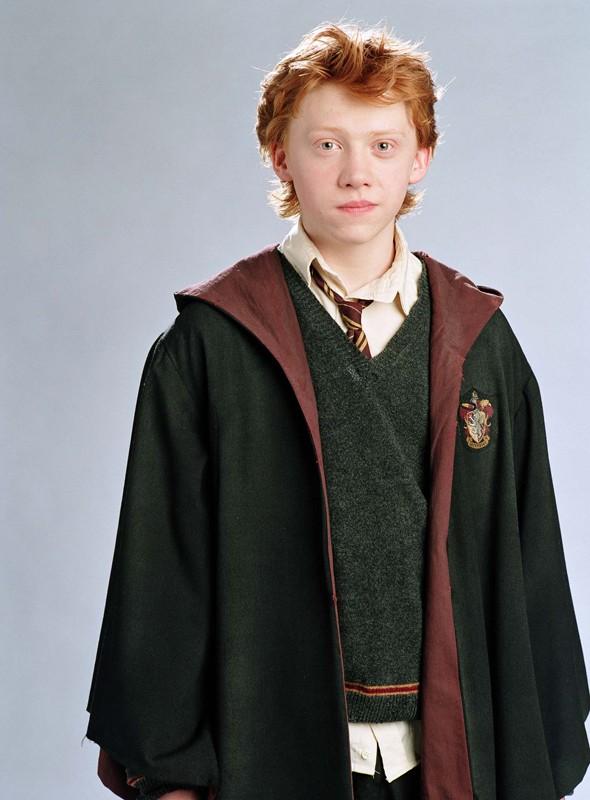 Rupert Grint è Ron Weasley in un'immagine di Harry Potter e il Prigioniero di Azkaban
