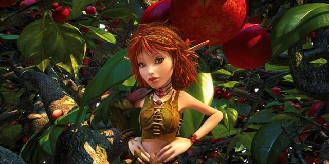 Selenia, uno dei protagonisti del film Arthur e la vendetta di Maltazard