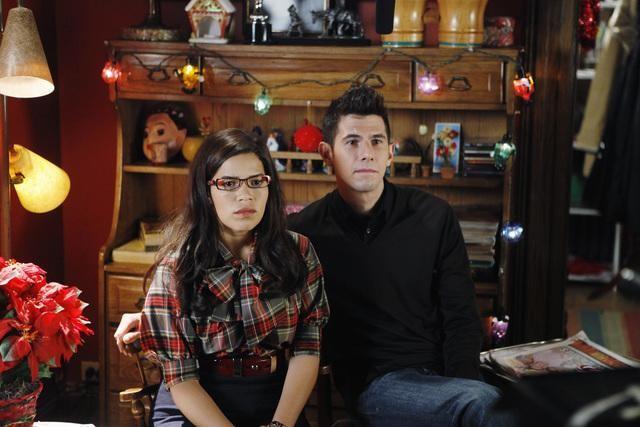 Ugly Betty: America Ferrera e Daniel Eric Gold nell'episodio Be-Shure