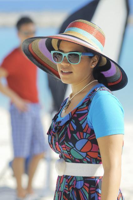 Ugly Betty: America Ferrera  nell'episodio The Bahamas Triangle