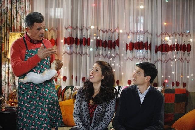 Ugly Betty: Ana Ortiz, Ralph Macchio e Tony Plana nell'episodio Be-Shure