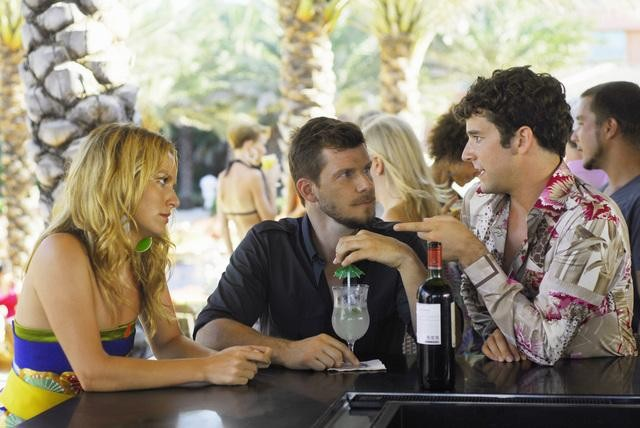 Ugly Betty: Eric Mabius, Becki Newton e Michael Urie nell'episodio The Bahamas Triangle