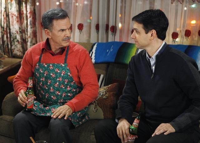Ugly Betty: Ralph Macchio e Tony Plana nell'episodio Be-Shure