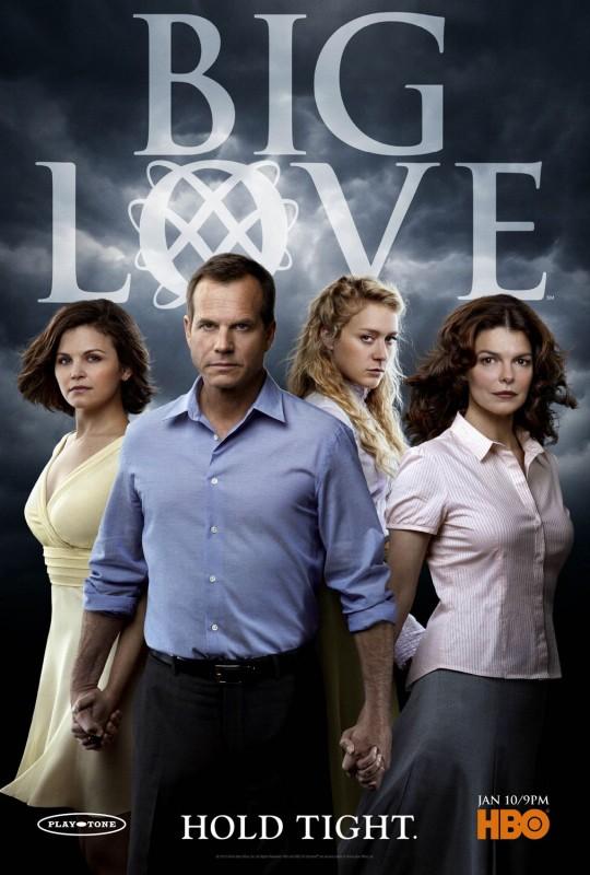 Un poster della stagione 4 di Big Love