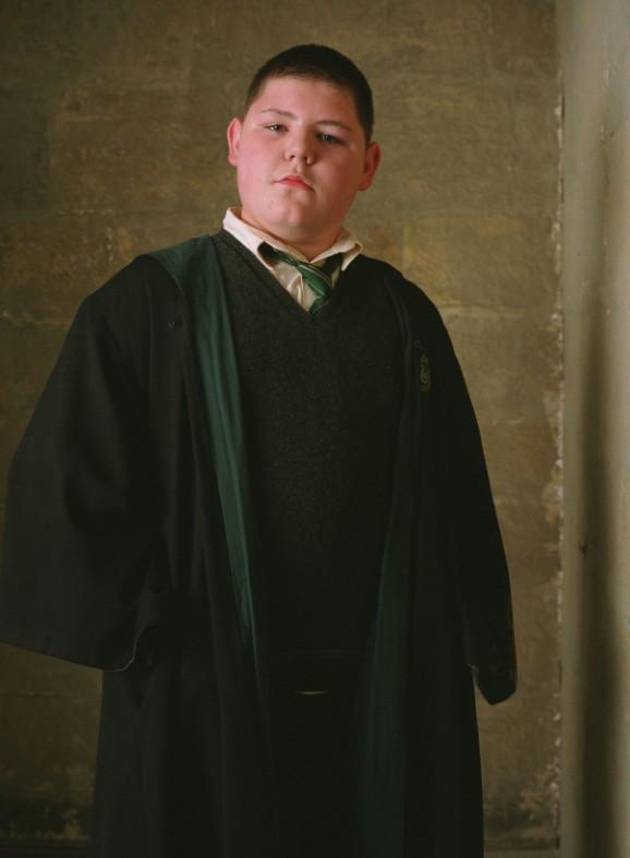 Una foto promozionale del film Harry Potter e il prigioniero di Azkaban con Vincent Tiger (Jamie Waylett)