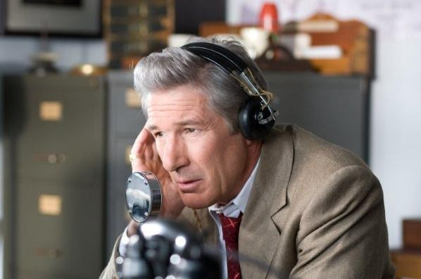 Richard Gere in una sequenza di Amelia