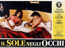 Una lobbycard promo del film Il sole negli occhi (1953)