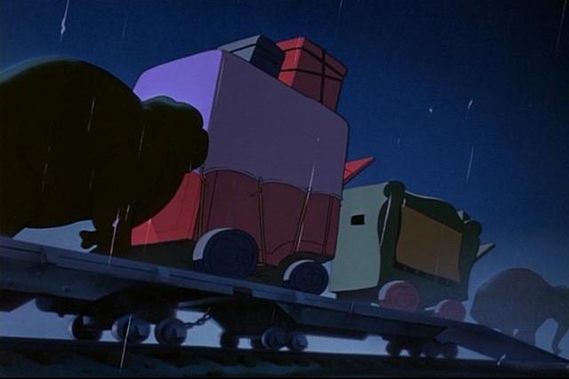 Uno degli elefanti del film d\'animazione Dumbo