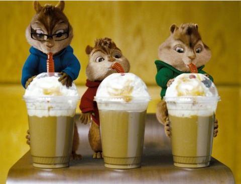Alvin, Theodore e Simon, simpatici protagonisti di Alvin Superstar