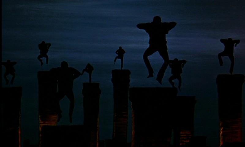 Il celebre ballo degli spazzacamini nel film Mary Poppins ( 1964 )