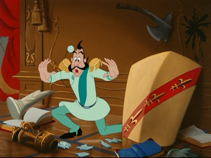 Il Granduca in una scena del film d\'animazione Cenerentola
