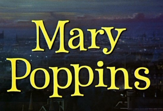 Titoli di testa del film Mary Poppins ( 1964 )