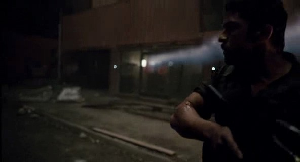 Una scena d'azione dal film Gamer