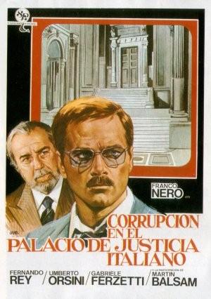 La locandina di Corruzione al palazzo di giustizia