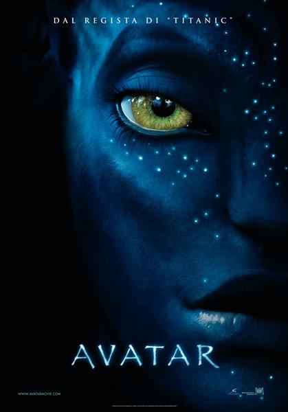Locandina italiana per il film Avatar