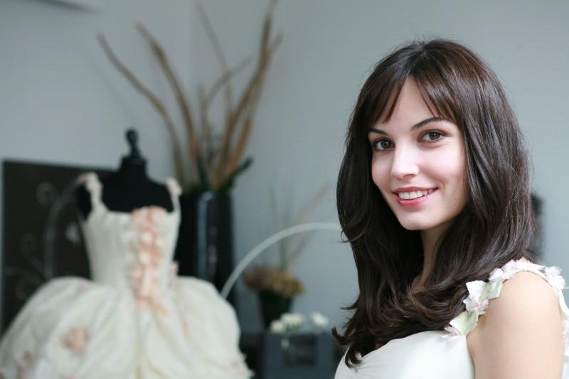 Michela Quattrociocche in una fiabesca immagine del film Scusa ma ti voglio sposare