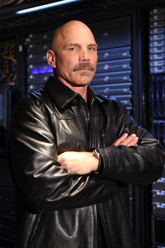 Patrick Kilpatrick in un momento dell'episodio 'Chuck Versus the Gravitron' della serie tv Chuck
