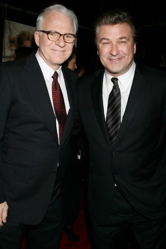 Alec Baldwin e Steve Martin alla presentazione del film E' complicato