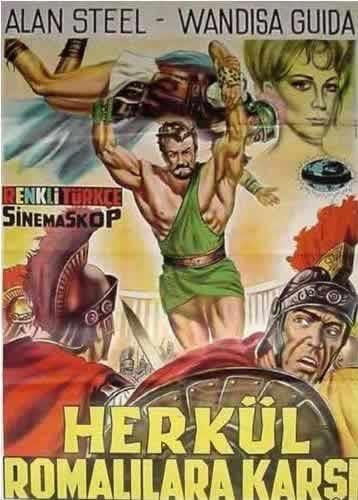La locandina di Ercole contro Roma
