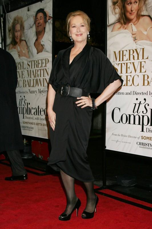Meryl Streep alla presentazione del film E' complicato
