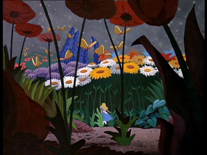 La protagonista del cartoon disneyano Alice nel paese delle meraviglie