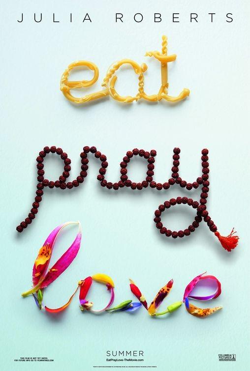 Teaser poster per Eat, Pray, Love
