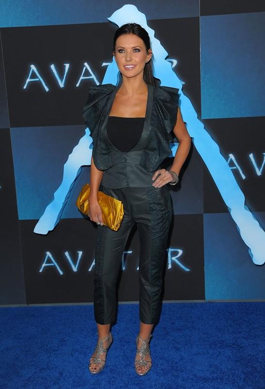 Audrina Patridge alla premiere del film Avatar, a Los Angeles, il 16 Dicembre 2009