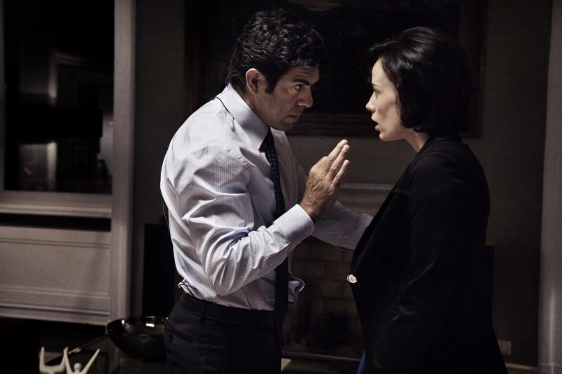 Pierfrancesco Favino e Daniela Piazza in una scena del film Baciami ancora