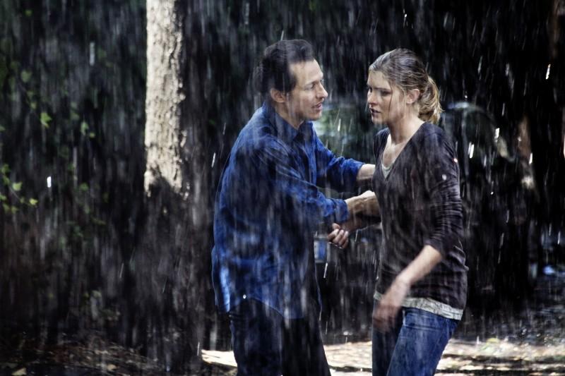 Stefano Accorsi e Vittoria Puccini in una scena del film Baciami ancora