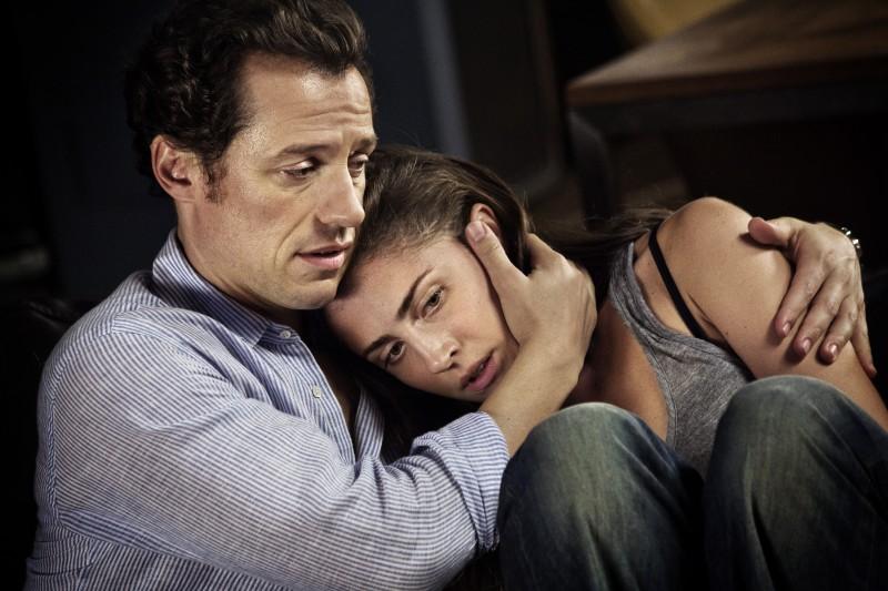 Stefano Accorsi e Vittoria Puccini in una sequenza del film Baciami ancora