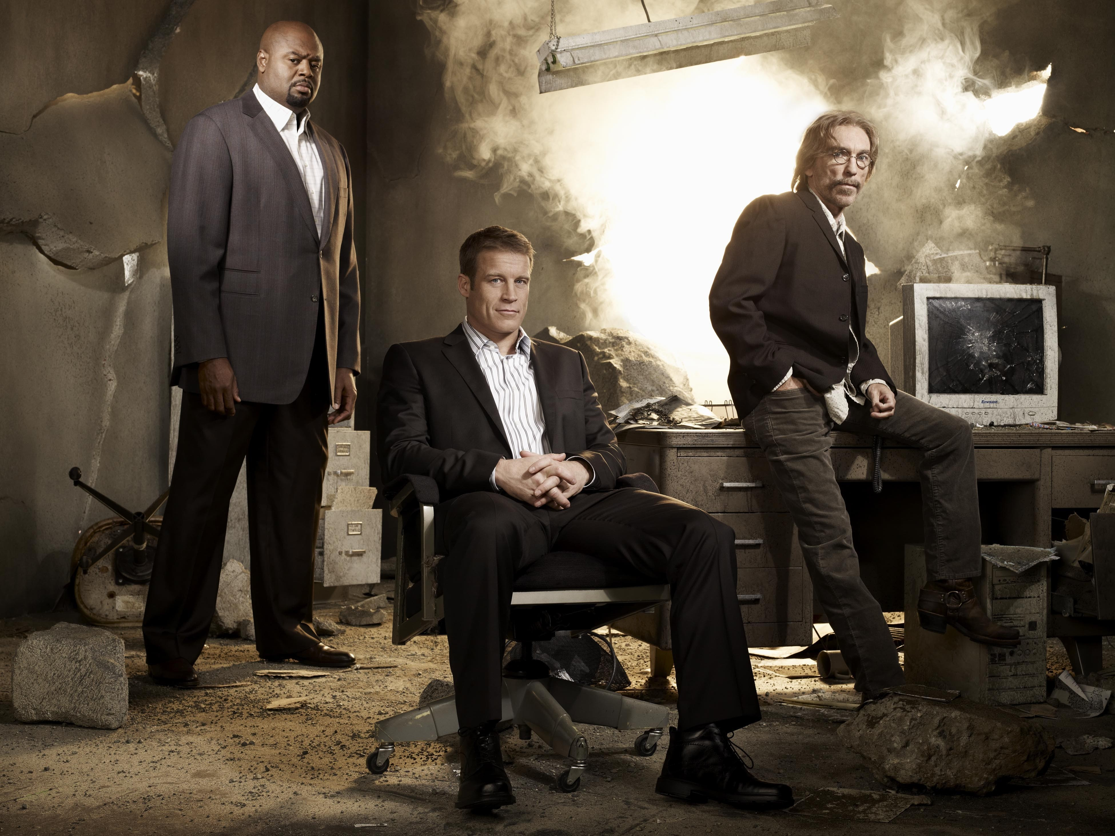 Human Target: un wallpaper col cast della serie