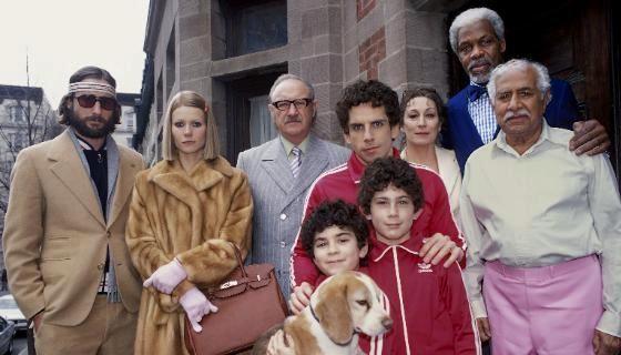 Ritratto di famiglia per il film I Tenenbaum