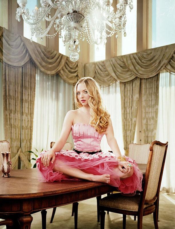 Un'immagine promozionale della bellissima Amanda Seyfried