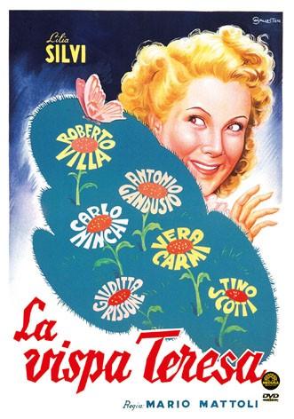 La copertina di La vispa Teresa (dvd)