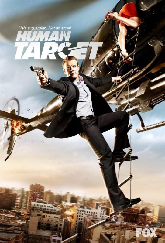 Un poster della serie Human Target