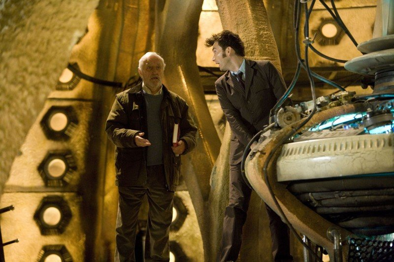 Doctor Who: Bernard Cribbins e David Tennant nel TARDIS nello speciale The End of Time