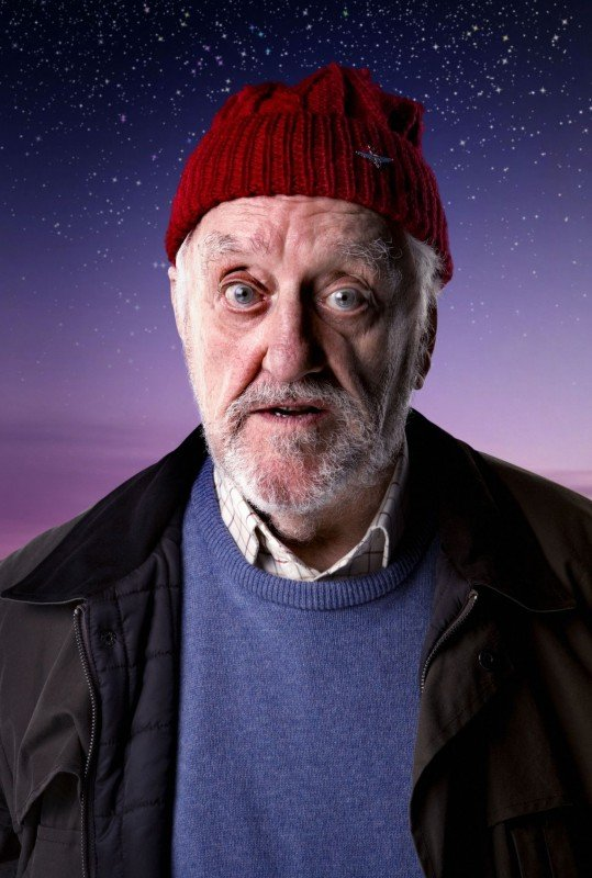 Doctor Who: Bernard Cribbins in una foto promozionale per lo speciale The End of Time