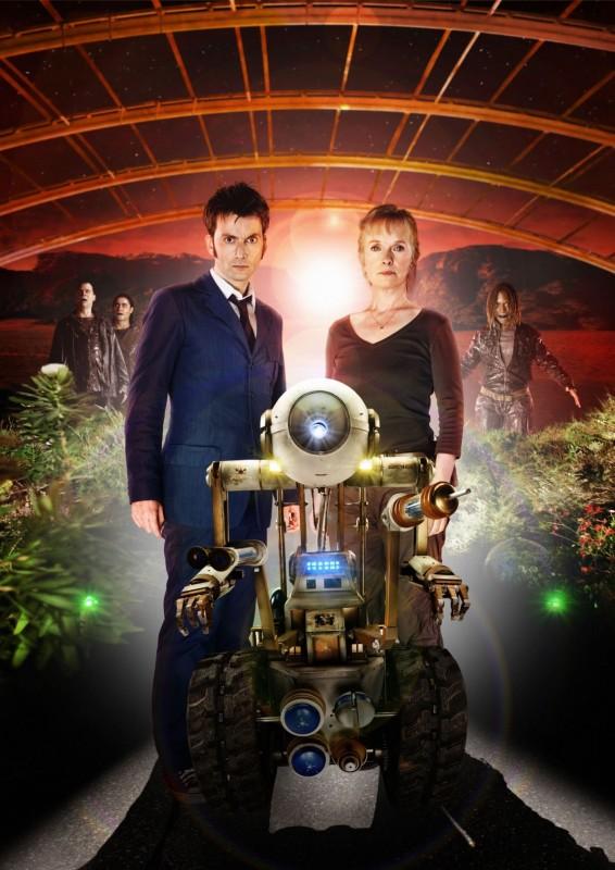 Doctor Who: David Tennant e Lindsay Duncan in una foto promozionale dello speciale The Waters of Mars