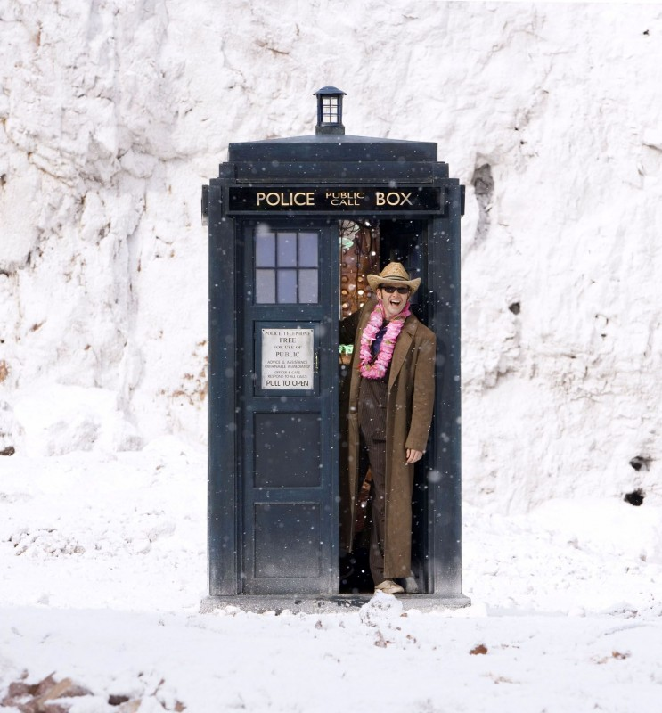 Doctor Who: David Tennant nel TARDIS nello speciale The End of Time