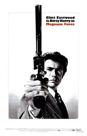Poster di Magnum Force, con Clint Eastwood.