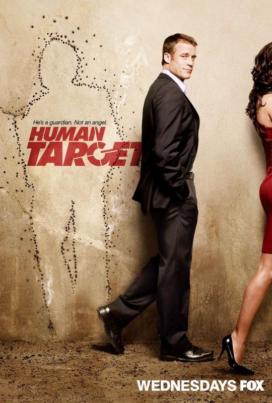 Uno dei poster della serie Human Target