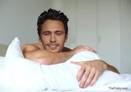 A letto con James Franco