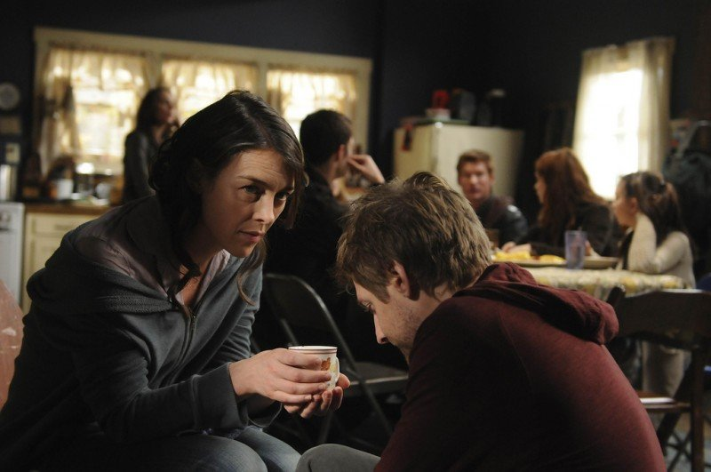 Dollhouse: Olivia Williams e Fran Kranz nell'episodio Epitaph Two: Return