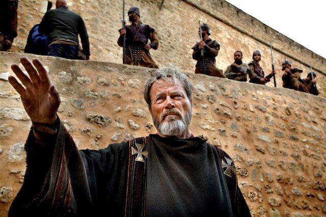 Franco Nero nel film TV su Sant'Agostino