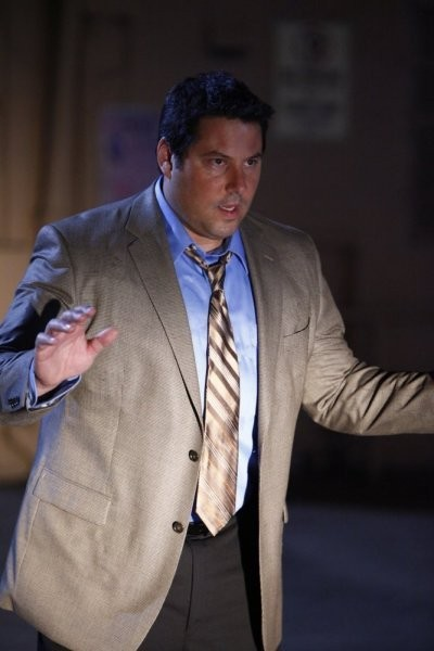 Greg Grunberg in una scena di Shadowboxing tratta dalla quarta stagione di Heroes