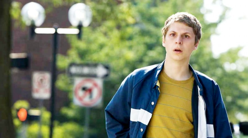 Michael Cera in una scena del film Youth in Revolt