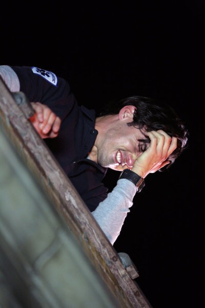 Milo Ventimiglia in una scena da The Fifth Stage dalla quarta stagione di Heroes